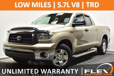 2008 Toyota Tundra for sale at Flex Motorcars in Houston TX