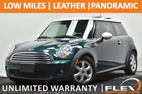2009 MINI Cooper for sale at Flex Motorcars in Houston TX