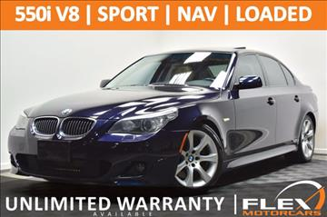 2008 BMW 5 Series for sale at Flex Motorcars in Houston TX