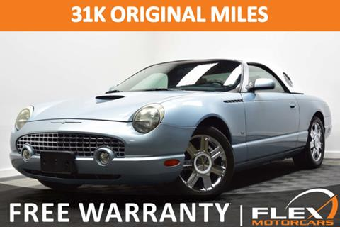 2004 Ford Thunderbird for sale in Houston, TX
