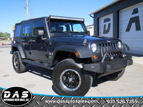 2008 Jeep Wrangler Unlimited for sale in Cookeville, TN
