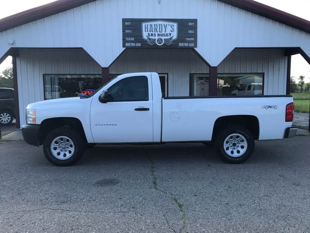 2009 Chevrolet Silverado 1500 4x4 Work Truck 2dr Regular Cab 8 Ft