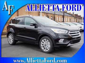 2017 Ford Escape for sale in Wellsburg, WV