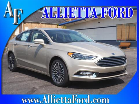 2017 Ford Fusion for sale in Wellsburg, WV