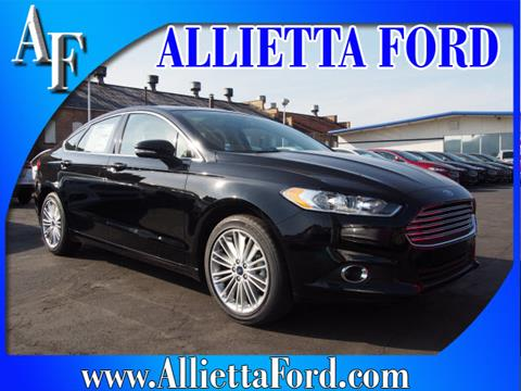 2016 Ford Fusion for sale in Wellsburg, WV