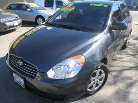 2011 Hyundai Accent for sale in North Hollywood, CA