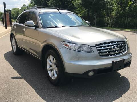 2004 Infiniti FX35 for sale at Main Street Cars in New Brunswick NJ