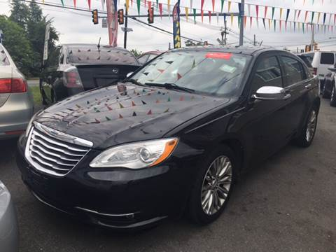 2012 Chrysler 200 for sale at Main Street Cars in New Brunswick NJ