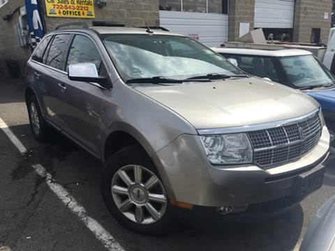 2008 Lincoln MKX for sale at Main Street Cars in New Brunswick NJ