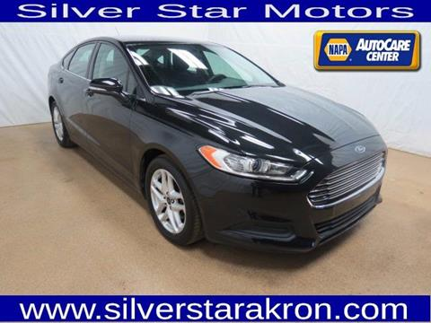 2015 Ford Fusion for sale in Tallmadge, OH
