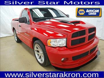 2004 Dodge Ram Pickup 1500 SRT-10 for sale in Tallmadge, OH