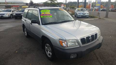 2002 Subaru Forester for sale in Bellingham, WA