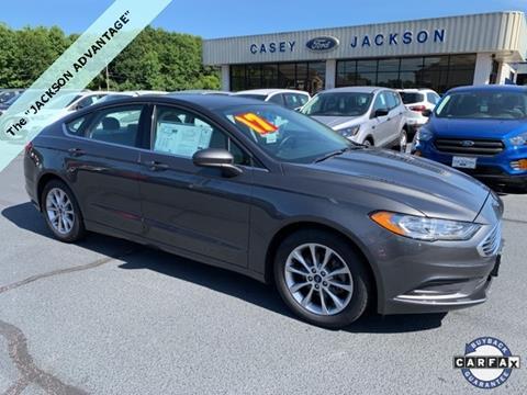 2017 Ford Fusion for sale in Royston, GA