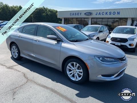 2016 Chrysler 200 for sale in Royston, GA