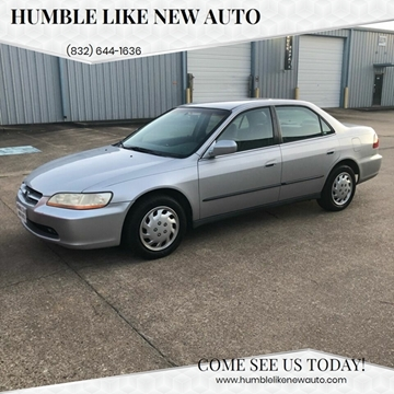 2000 Honda Accord for sale in Humble, TX