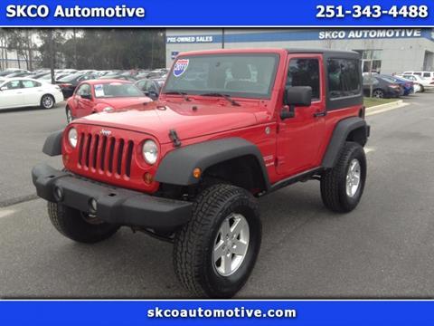 2011 Jeep Wrangler for sale in Mobile, AL
