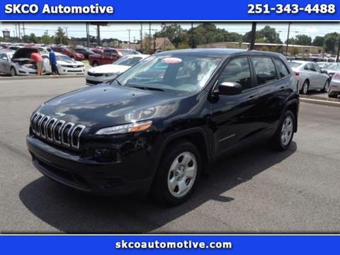 2017 Jeep Cherokee for sale in Mobile, AL