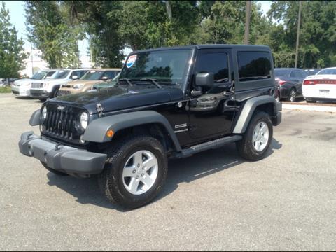 2015 Jeep Wrangler for sale in Mobile, AL