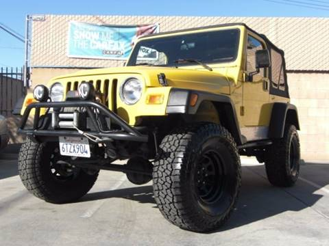 2000 Jeep Wrangler For Sale In El Cajon, CA