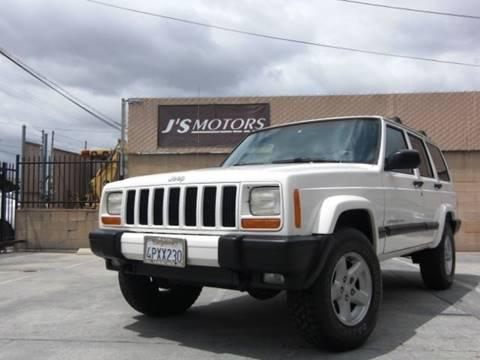 2001 Jeep Cherokee for sale in El Cajon, CA