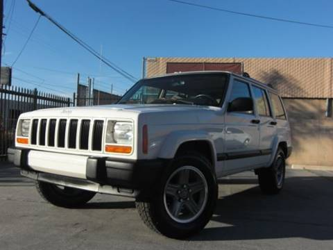 2001 Jeep Cherokee Sport for sale at J'S MOTORS in El Cajon CA