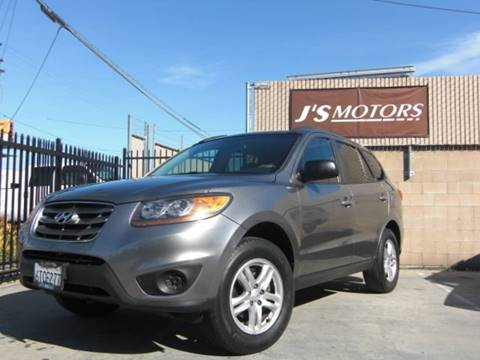 2011 Hyundai Santa Fe GLS for sale at J'S MOTORS in El Cajon CA