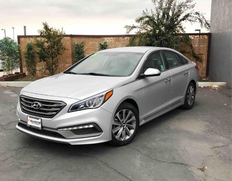 2015 Hyundai Sonata for sale at AUTOGROVE in Rancho Cucamonga CA