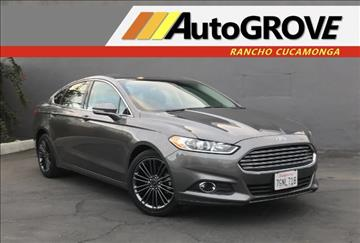 2014 Ford Fusion for sale at AUTOGROVE in Rancho Cucamonga CA