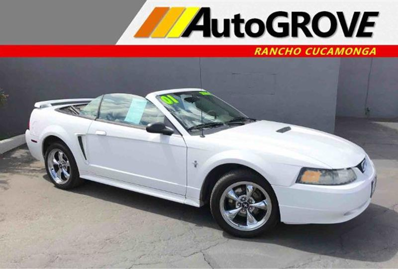 2001 Ford Mustang for sale at AUTOGROVE in Rancho Cucamonga CA
