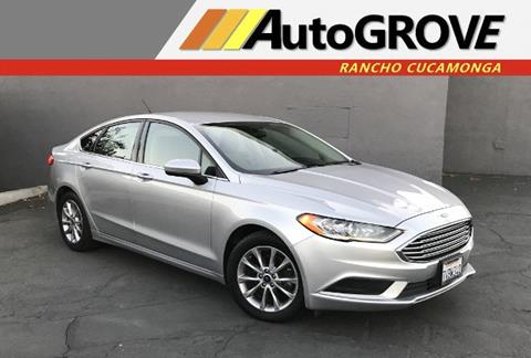 2017 Ford Fusion for sale at AUTOGROVE in Rancho Cucamonga CA