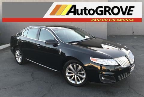 2009 Lincoln MKS for sale at AUTOGROVE in Rancho Cucamonga CA
