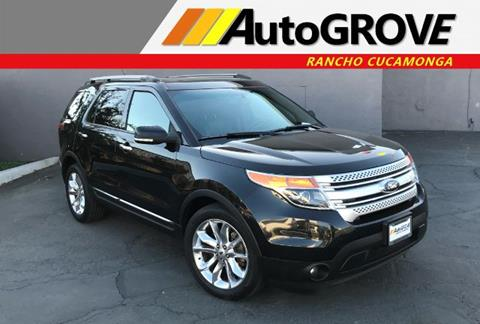2014 Ford Explorer for sale at AUTOGROVE in Rancho Cucamonga CA