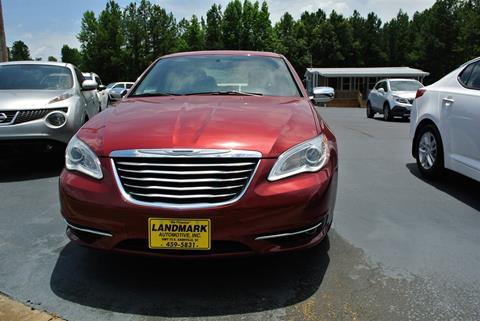 2014 Chrysler 200 for sale in Abbeville, SC