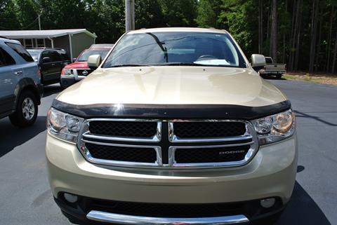 2012 Dodge Durango for sale in Abbeville, SC