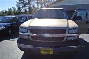 2005 Chevrolet Silverado 1500 for sale in Abbeville, SC