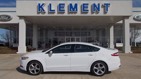 2014 Ford Fusion for sale in Muenster, TX