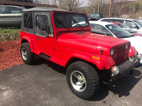 1995 Jeep Wrangler for sale at GMG AUTO SALES in Scranton PA