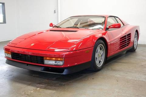 Ferrari Testarossa For Sale In Texas Carsforsale