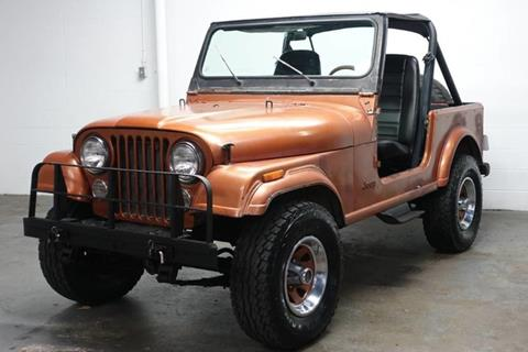1982 Jeep CJ-7 for sale in Farmers Branch, TX