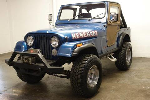 1977 Jeep CJ-5 for sale in Farmers Branch, TX