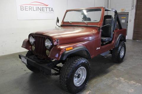 1985 Jeep CJ-7 for sale in Farmers Branch, TX