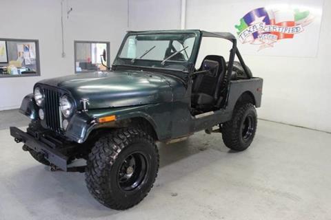 1979 Jeep CJ-7 for sale in Farmers Branch, TX
