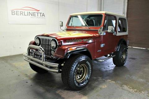 1985 Jeep CJ-7 for sale in Dallas, TX
