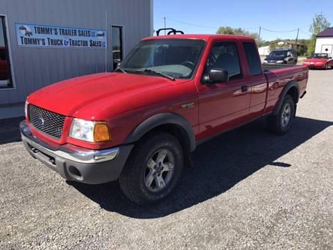 2002 Ford Ranger for sale at Tommy's Truck and Tractor in Ada OH