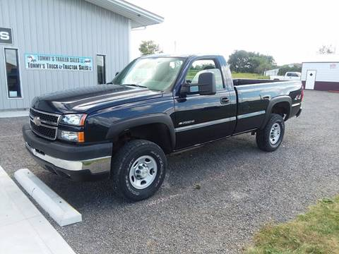 2006 Chevrolet Silverado 2500HD for sale at Tommy's Truck and Tractor in Ada OH