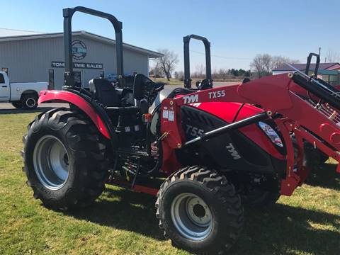 2017 TYM T554 for sale at Tommy's Truck and Tractor in Ada OH