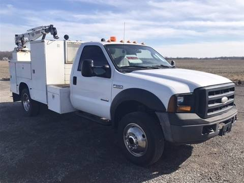 2007 Ford F-550 for sale at Tommy's Truck and Tractor in Ada OH