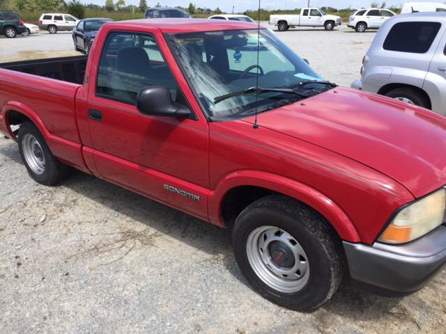 1998 GMC Sonoma for sale at El Dorado Auto Sales in Bells TN