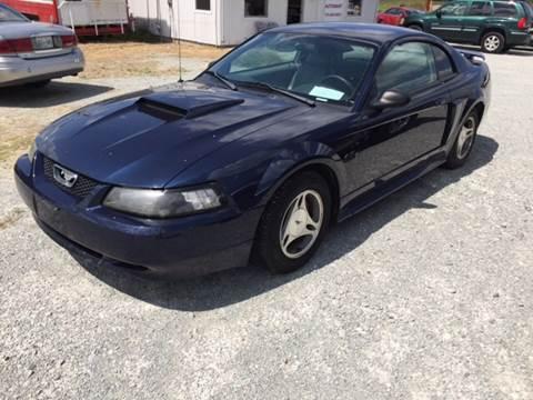 2001 Ford Mustang for sale at El Dorado Auto Sales in Bells TN