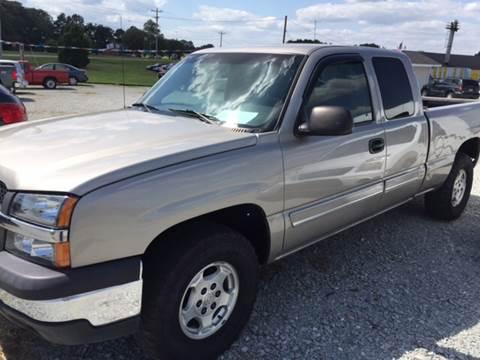 2003 Chevrolet Silverado 1500 for sale at El Dorado Auto Sales in Bells TN